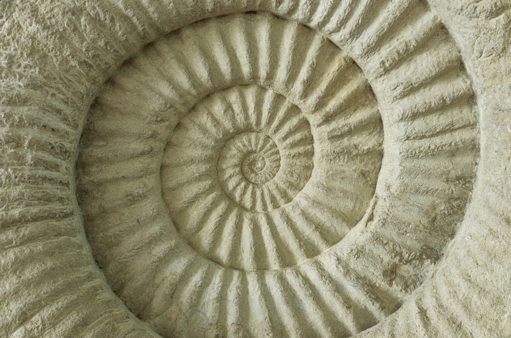 Spiraling sand staircase